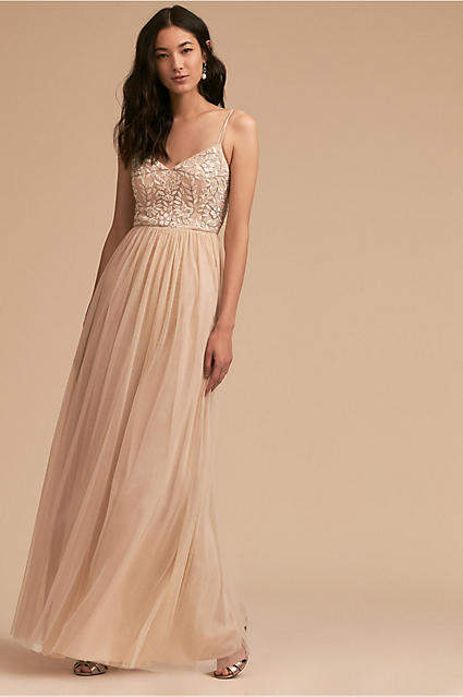 Anthropologie Elowen Wedding Guest Dress
