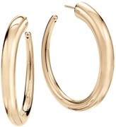 Lana 14K Yellow Gold Graduated Hoop Earrings