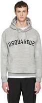 DSQUARED2 Grey Logo Hoodie