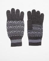 Le Château Wool Blend Fair Isle Glove