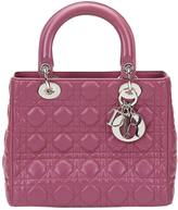 Christian Dior Lady leather tote
