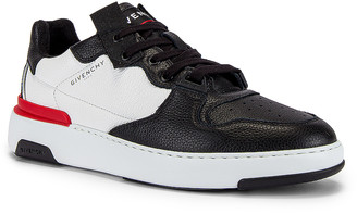 Givenchy Wing Low Top Sneaker in Black & White   FWRD