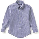Brooks Brothers 4-20 Bangle Striped Woven Shirt