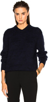 Acne Studios Jena V Neck Sweater