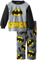 Batman Little Boys' 2 Piece Pajama Set, Multi