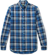 Gitman Vintage - Button-Down Collar Checked Cotton-Twill Shirt