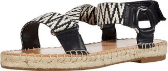 Frye Women's Kole Asymmetrical Sandal Espadrille Wedge