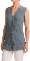 Neon Buddha Valley Vest Tank Top - Scoop Neck (For Women)