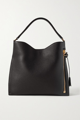 Tom Ford Alix Textured-leather Shoulder Bag - Black