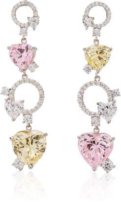 Anabela Chan Cupid Heart Earrings