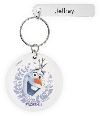 Disney Olaf Keychain by Leather Treaty Frozen 2 Personalized