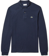 Lacoste Cotton-piqué Polo Shirt - Navy