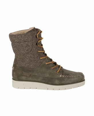 Sperry Women's Azur Hatch Wp Suede Slouch Boots