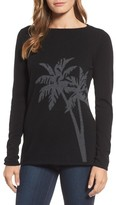 Tommy Bahama Women's Island Palm Intarsia Cashmere Pullover