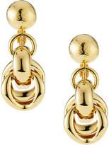 Jose & Maria Barrera Puffy Link-Drop Earrings