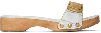Jacquemus Green Les Tatanes Sandals