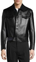 CNC Costume National Long-Sleeve Sports Jacket, Black