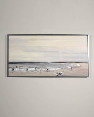 "Parker RFA Fine Art ""Beach Study"" Giclee Wall Art by Edith"