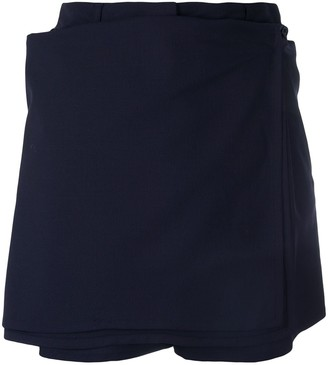 Jean Paul Gaultier Pre-Owned Skirt Detail Shorts