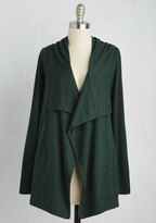 Sweet Rain Chill You Be Mine? Cardigan in Forest