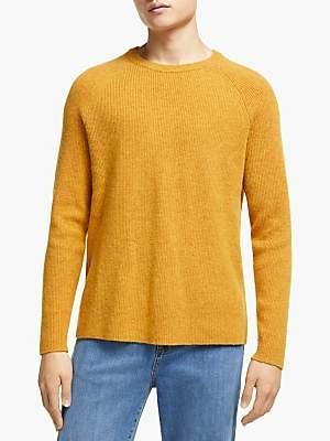 KIN Chunky Plain Knit Jumper, Yellow