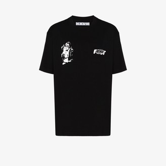 Off-White Kiss 21 relaxed-fit T-shirt