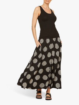 Masai Copenhagen Sadie Polka Dot Maxi Skirt, Multi