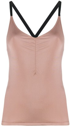 Filippa K Soft Sport Gathered Strap Top