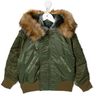Go To Hollywood Faux Fur-Trimmed Parka Coat