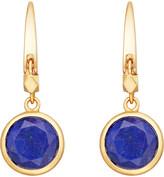 Astley Clarke Stilla 18ct gold-plated lapis lazuli earrings