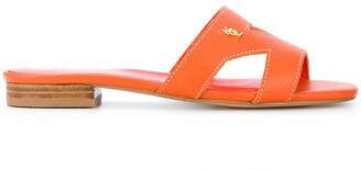 Kurt Geiger Odina flat sandals