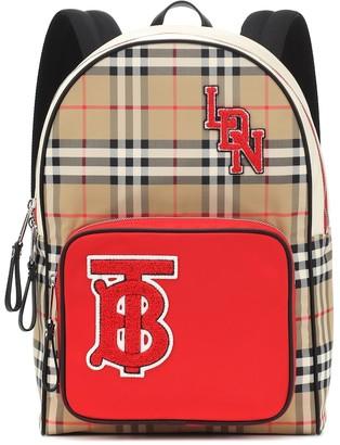 BURBERRY KIDS Monogram Vintage Check backpack