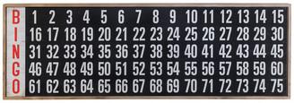 American Mercantile Wood Bingo Board Decor