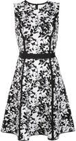 Carolina Herrera floral knit dress - women - viscose - M