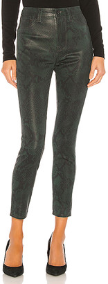 7 For All Mankind Coated High Waist Ankle Skinny. - size 24 (also