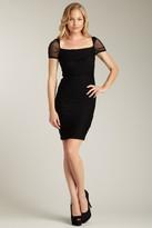 Jessica Simpson Square Neck Sheath Dress JS2A3809