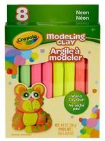 Crayola Modeling Clay, 8ct - Neon