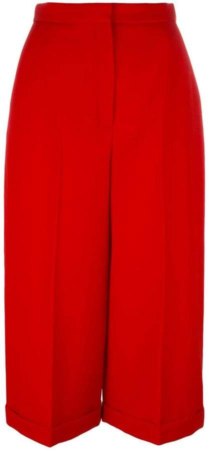 Alexander McQueen pleated culottes