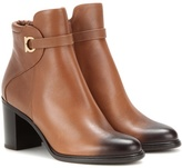Salvatore Ferragamo Florian leather ankle boots