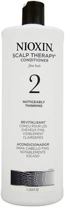 Nioxin 33.8Oz System 2 Scalp Therapy Conditioner For Fine Natural Noticeably Thinning Hair