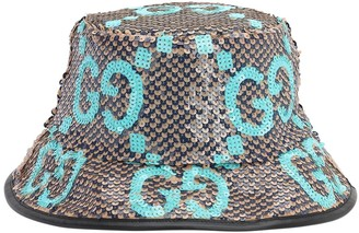 Gucci Sequined Gg Bucket Hat