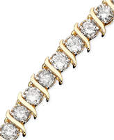 Macy's Diamond Bracelet (5-1/3 ct. t.w.) in 10k Yellow Gold