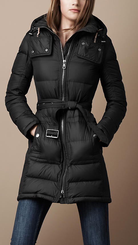 Burberry Long Down-Filled Puffer