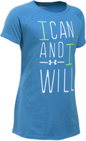 Under Armour Girls' Graphic-Print Active T-Shirt
