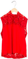 Sandro Lace Open Back Top w/ Tags