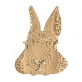 Titlee Gold-Plated Brass Lapin Lenny Brooch