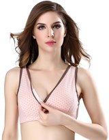 LANFEI Wireless Nursing Sleep Bra Lingerie Sleepwear Maternity Vest