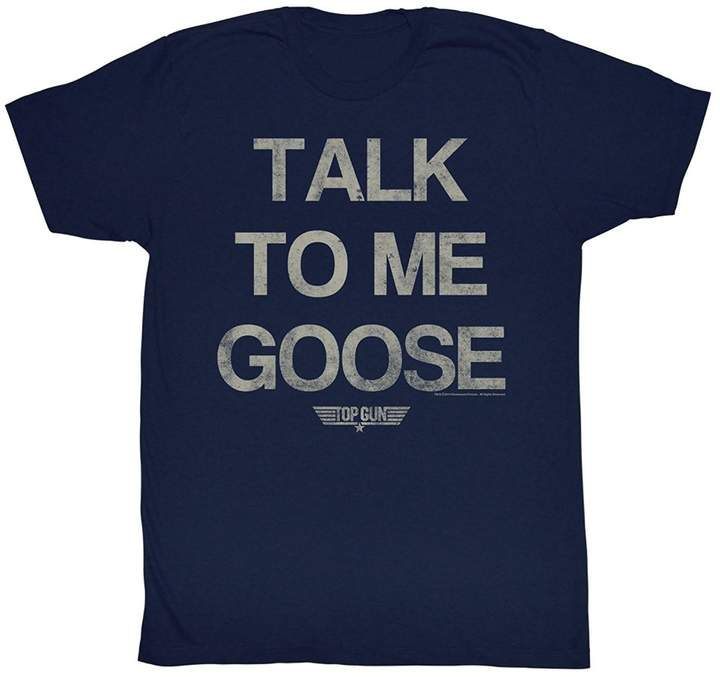 Top Gun Sun-Tshirt Talk to Me Goose Movie Action Drama T-Shirt Tee