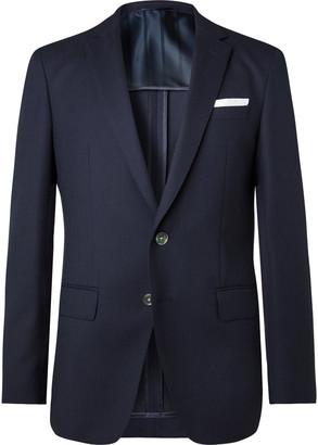 HUGO BOSS Navy Hartley Virgin Wool Blazer
