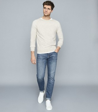 Reiss Ceha - Tapered Slim Fit Jeans in Indigo